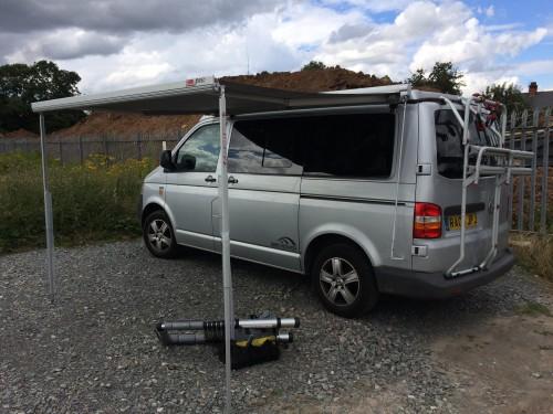 VW Van with Gazebo