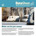 Winter care for your caravan
