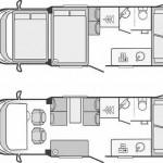 Rental Vehicle Services Floor Plan
