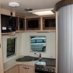 full view of kitchenette
