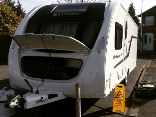 Full Caravan Service in Wigston